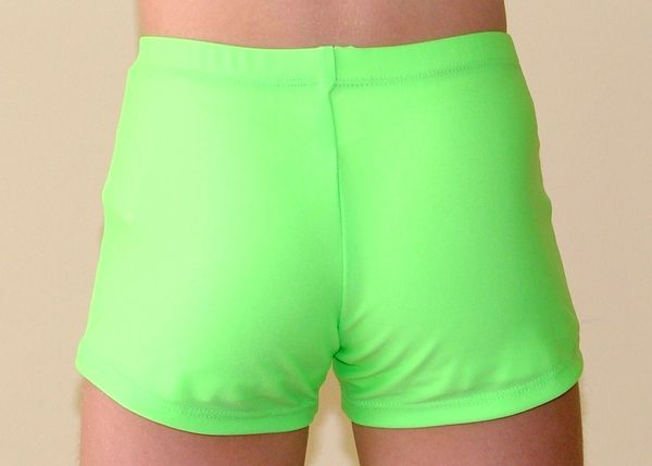 Disco_Green_Gym_Shorts_2