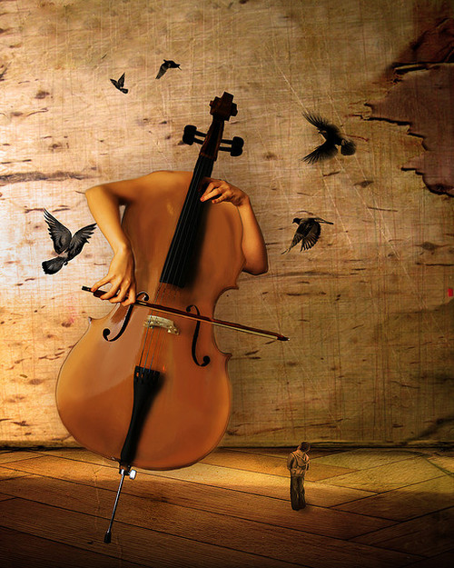 Cello_Abstract